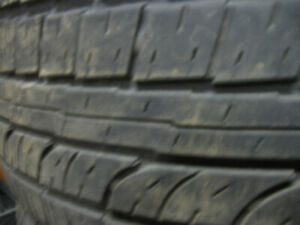 4 summer tires FIRESTONE/Fire hawk GT 235/55R17