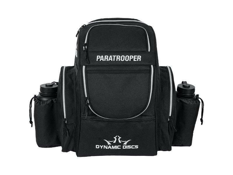New Dynamic Discs Paratrooper Black Backpack