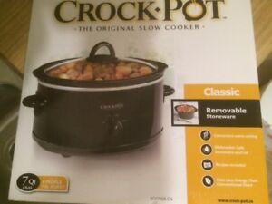 7 Qt. Slow Cooker - Crock Pot