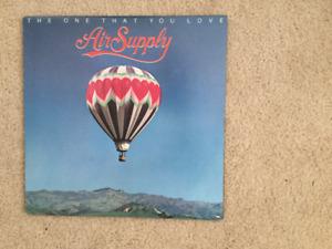 Air Supply The One That You Love 33 1/3 RPM vinyl LP
