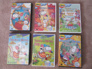 Toopy and Binoo DVD's