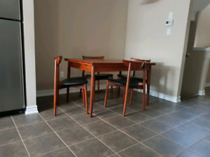 teak buy or sell dining table sets in hamilton kijiji classifieds