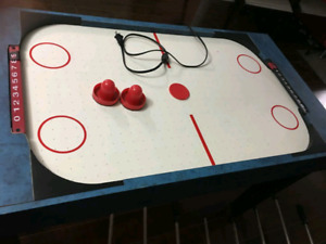 3 in 1 sports games table