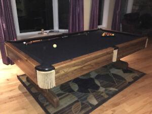 Beautiful Slate Pool table