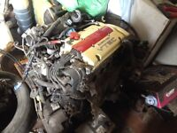 Honda h22a engine 127,000 prelude civic integra type r
