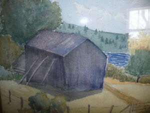 Co-Worker with Group of Seven,T. W. McLean, Original Watercolor Stratford Kitchener Area image 7