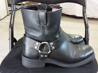 Genuine Harley Davidson Leather Riding Boots