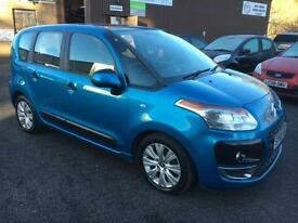 5909 Citroen C3 Picasso 1.6HDi ( 92bhp ) VTR+ Blue 5 Door 68271mls MOT Oct 2017