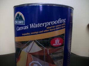 Canvas waterproofing