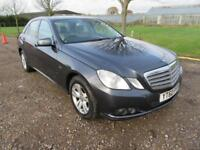 2010 MERCEDES BENZ E220 2.1CDI SE BLUE EFFICIENCY AUTOMATIC DIESEL 4 DOOR SALOON