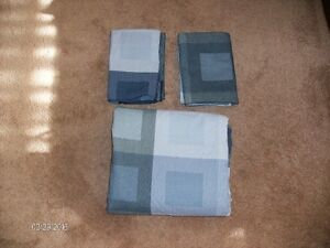 Duvet Cover and Two Shams - Double