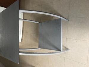 2 table en metal