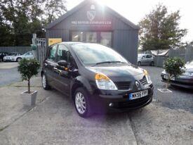 Renault Modus 1.6 16V DYNAMIQUE 111HP AUTO (black) 2006