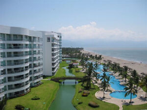 Beachfront Condo in Nuevo Vallarta