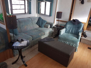 RV Sofa/hideabed and Chair