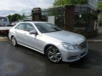 2012 Mercedes-Benz E Class 2.1 E220 CDI BLUEEFFICIENCY EXECUTIVE SE 4d AUTO