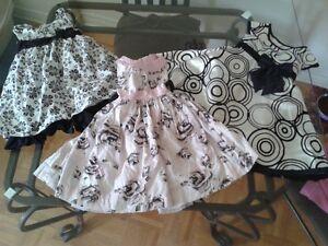 GIRL SUMMER DRESSES SIZE 3