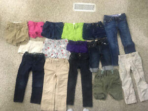 Girls Shorts and Jeans 3-4-5