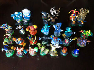 ONLY 150 SKYLANDER FIGURES LEFT, 6 XBOX 360 GAMES, CARDS, CASES