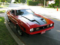 1972 Ford Mustang Mach 1 All-Original 23,500$