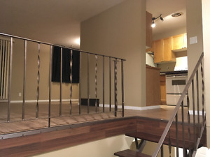 2 bedroom one bathroom on 2 levels condo in Red Deer, AB