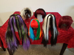 Assorted Wigs - 6 Different Types