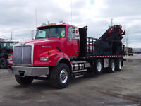 Knuckle Boom Crane / Truck for hire