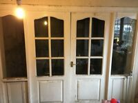 Used internal doors