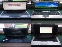 Joblot of laptops four in total please read main description