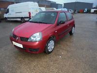 Renault Clio 1.2 ( 60bhp ) Campus 3 DOOR - 2006 56-REG - 2 MONTHS MOT