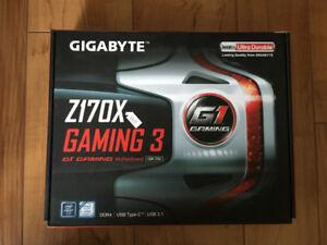 Gigabyte Motherboard z170 Gaming 3