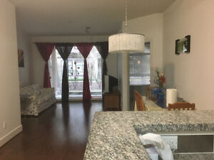 $1850 for 2 Bedrooms, 2 Bathrooms and 1 Den with furnitures