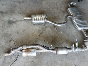 TT 2011 double exhaust complet stainless