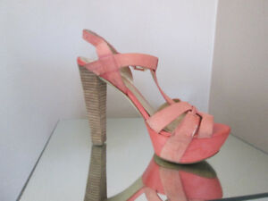 Guess real leather suede stilettos