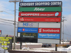 Retail/Office space for lease in Causeway Shopping Centre