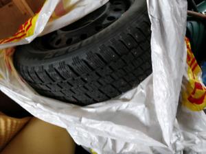 Cooper Winter Tire with rims 225R6517 (offer 2 days only)