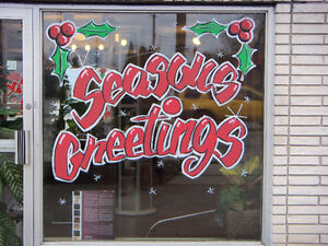 Sign and Window Advertising / Hand Painted Signs / Window Art Stratford Kitchener Area image 9