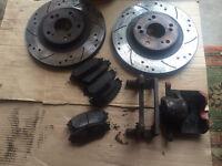 Type R Discs , Caliper, Pads - BARGAIN
