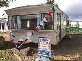 Cheap Static Caravan Clacton Essex 2 bed 6 berth not highfields 12 month season