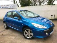 Peugeot 2007 307 X-Line 1.4 16v Petrol Manual Hatch in Blue