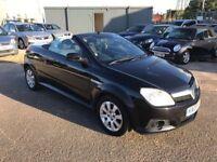 2005 Vauxhall Tigra Sport 1.4 Convertible, Low Mileage + 11 Stamps + Mot no advisories + Warranty
