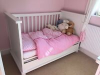 Solid wood Dutch made Cot Bed/Day Bed