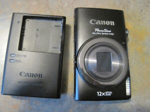 Canon PowerShot ELPH 340 HS 16MP with 12x Zoom/Full HD WIFI came