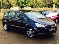 2009 Ford S-MAX 2.0TDCi ( 140ps ) Zetec Diesel Black 7 Seater SUPERB THROUGHOUT