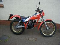 HONDA TLR200 TWIN SHOCK TRIALS TAKE A LOOK AT THIS 1983