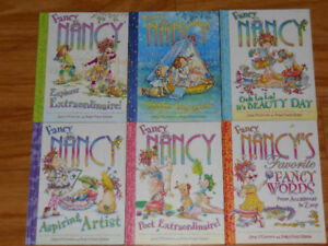 Fancy Nancy by Jane O'Conner 6 books