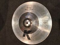 Repaired Zildjian K custom hybrid China cymbal *read description*