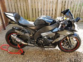 Kawasaki ZX10R not gsxr r1