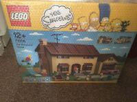 Lego Simpson house still bubble wrapped NIB