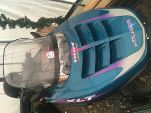 Snowmobile 1997 Polaris Indy xlt touring edition.
